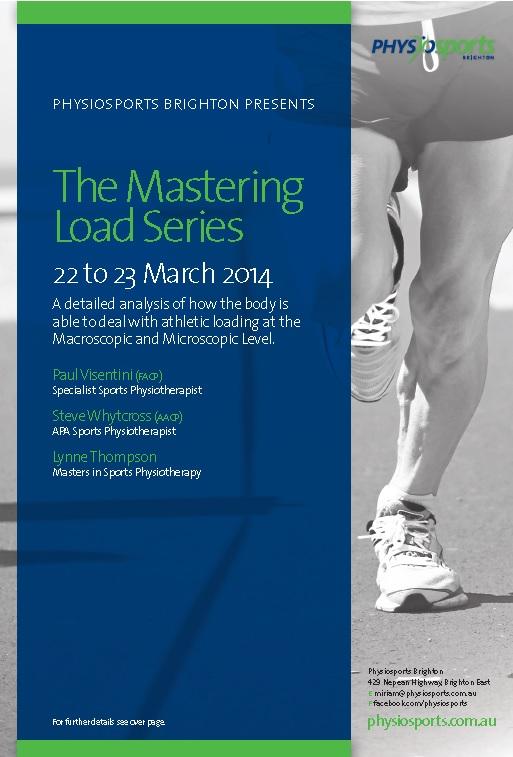 Mastering Load Conference Flyer